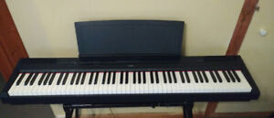 Yamaha p115 digital piano in excellent condition.