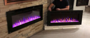 Fireplace Blow out sale - 50% Off fireplace Electric, Wall mount