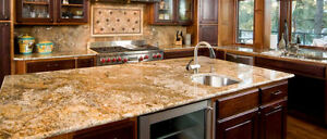 EnjoyHome Granite/Quartz Kitchen Counter top For Sale Cambridge Kitchener Area image 4