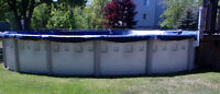 27 foot above ground pool