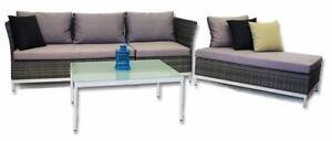 Outdoor Sofa Chaise Daybed Chelsea Setting with Cushions Berwick Casey Area Preview