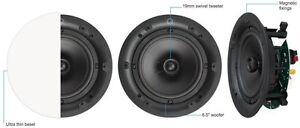 Q Acoustics Q Install Qi65C Professional In-Ceiling Speakers (Pair) QI1110