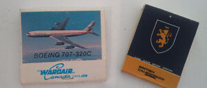 Two Airline Matchbooks Match Books