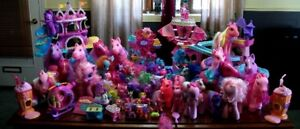 LOT Little poney et LOT petshop