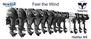 New TOHATSU Outboards - Boat Show Specials  on now at NewStar