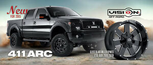 Wheels and Tires for Ford Trucks (F150, F250, F350)