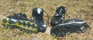 Adidas and Nike cleats