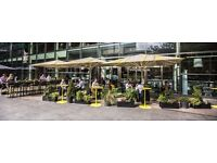 Barbacks required for The Parlour Canary Wharf, part of Drake & Morgan Group