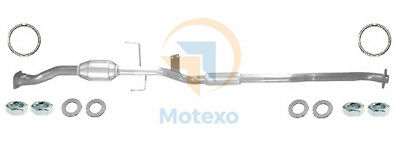 BM91912H Exhaust Approved Petrol Catalytic Converter +Fitting Kit +2yr Warranty