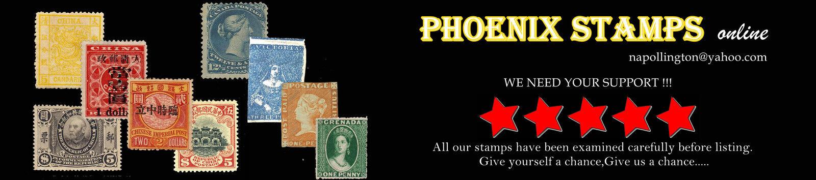Phoenix Stamps online
