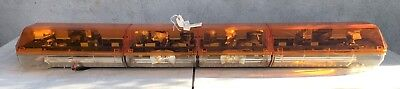Code 3 Pse 58 Mx 7000 Light Bar Amber Domes New 11