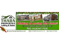 1-2-3-4 Bedroom Places Available NO AGENCY FEE