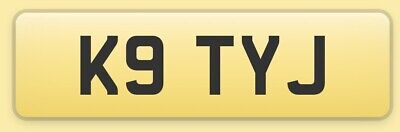 Katy J Private cherished Number Plate K9TYJ on retention