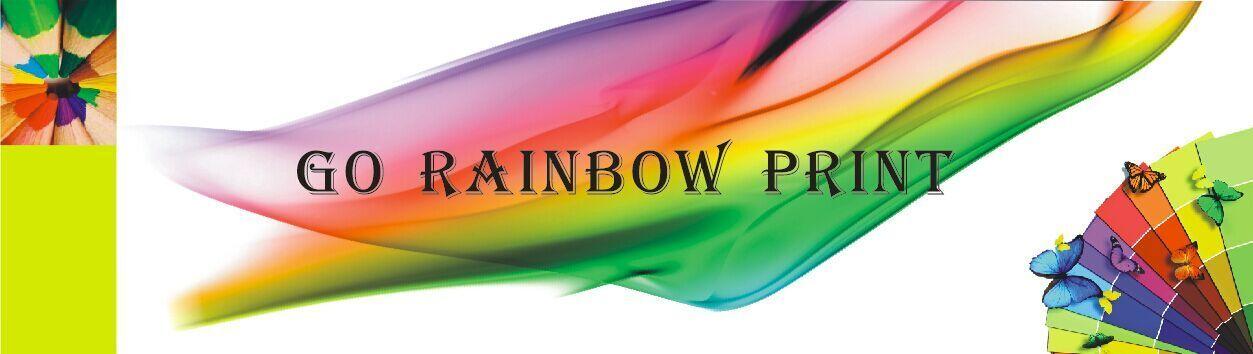 Go Rainbow Print