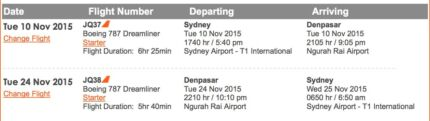 Denpasar, Bali, Indonesia return ticket from Sydney with Jetstar Leura Blue Mountains Preview