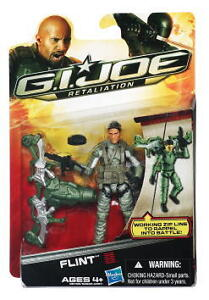 G.I. Joe Retaliation Flint Movie Action Figure In Stock Zip Line