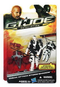 G.I. Joe Retaliation Sneak Attack Storm Shadow Movie Action Figure In Stock