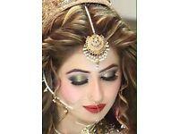 Asian bridal & party make up artist