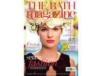 Door to Door Magazine Delivery - Part Time - Last Week of Each Month - Hours to Suit - Bath Areas.