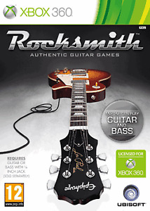 Rocksmith With Guitar Cable to Console