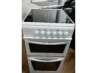 INDESIT FREE STANDING 50cm ELECTRIC COOKER FOR SALE, EXCELLENT CONDITION