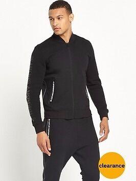 Black Superdry bomber jacket