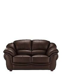 Luxury leather 2-seater sofa / settee