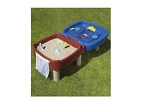 FREE Little tykes easy store sand and water table