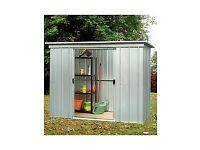 Yard Master metal pent roof garden shed/ 6.5 ft X 3.9 ft