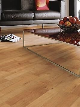 X13 PACKS 3 STRIP OAK 6MM LAMINATE FLOORING