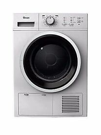 NEW GRADED SWAN STC7020W 8KG, B RATED, CONDENSER SENSOR TUMBLE DRYER IN WHITE RRP £319