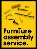 FURNITURE ASSEMBLY AND INSTALLATION SERVICES - IKEA, JYSK, etc