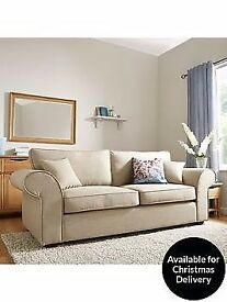 Ideal Home Lisbon 3-Seater sofa , brand new with tags , ex display RRP . £999