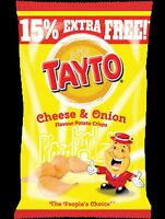 Tayto and Guinness Crisps/Chips Teas Chocolates Sweets Candy++++
