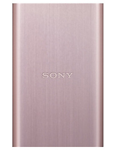 BRAND-NEW Sony HD-E1 External Hard Drive 1TB [pink gold]