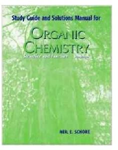 Organic Chemistry Study Guide and Solutions Manual 5thEd Neil Peterborough Peterborough Area image 1