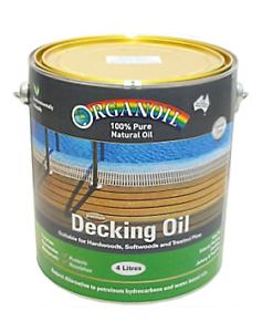 ORGANOIL CLASSIC CLEAR DECKING OIL 4 LITRES Ermington Parramatta Area Preview