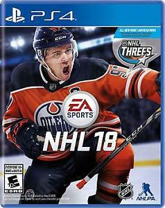 NHL 18 BRAND NEW IN PACKAGE