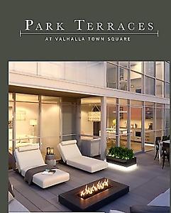 Park Terraces, Valhalla Town Square Condos,  One Free Parking