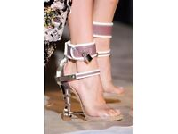 DSQUARED CAGED PADLOCK HEELS - Sold out