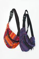 Wool multicoloured fanny pack