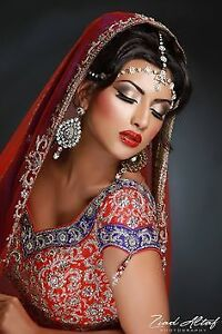 party/bridal/engagment makeup+hair style +heena tattoo