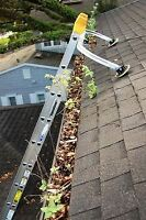 Professional Eavestrough Cleaning, Gutters, Eaves trough
