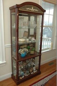 Large Size Curio Cabinet For Sale