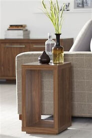 Next Mode Walnut Lounge Side Table - Lovely Piece!