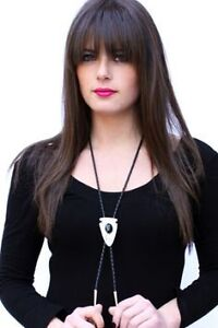 Seeking BOLO Ties to wear as a necklace (for a woman)
