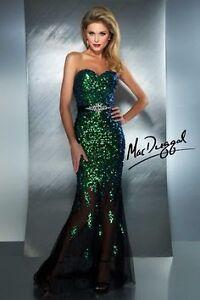 Mac Duggal Formal Sequin Dress Size 6 Nundah Brisbane North East Preview