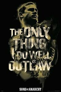 Sons of Anarchy - Outlaw Jax Poster Kitchener / Waterloo Kitchener Area image 1