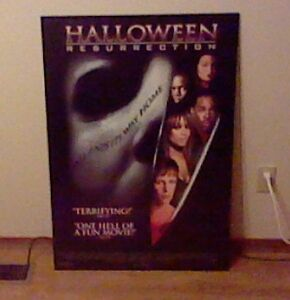 Halloween Resurrection Cinema Wall-Hanging Stratford Kitchener Area image 1
