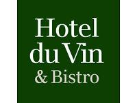 Waiting Staff - part time Hotel du Vin Cambridge plus service charge and excellent benefits